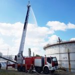 Уникальный пеноподъемник нового поколения ВИТАНД ППП-55 на базе шасси IVECO Trakker успешно эксплуатируется на «Саратовском нефтеперерабатывающем заводе»