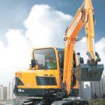 Гусеничный мини-экскаватор Hyundai R60-9S: союз компактности, производительности и универсальности
