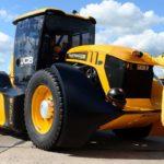 JCB Fastrac установил в Великобритании новый рекорд скорости среди тракторов