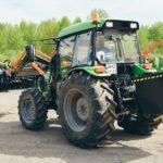 Краснокамский РМЗ адаптировал погрузчик FRONTLIFT  к тракторам DEUTZ-FAHR