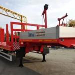 В России выпустили универсальный полуприцеп-контейнеровоз повышенной проходимости