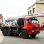 Челябинский механический завод представил новые разработки автокранов