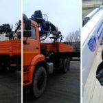 Российский завод объединил кран, подъемник и бурильную машину в одной модели
