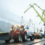 Мурманский морской торговый порт принял в эксплуатацию трактор Valtra®  Т144