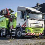 Первый электроприводный мусоровоз DAF CF Electric передан компании ROVA