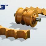 Новый продукт – сегмент ведущего колеса Komatsu D375 от ЧАЗ!