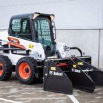 Компания Bobcat представляет новый распределитель грунта и асфальта
