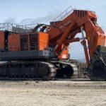 Горный экскаватор Hitachi ЕХ3600Е-6LD приступил к работе  на «Солнцевском угольном разрезе»