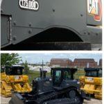 Компания Caterpillar отмечает выпуск 175-тысячного бульдозера средней мощности с приподнятым ведущим колесом