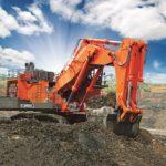 В России начались продажи новой модели горного экскаватора Hitachi EX2600-7