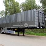 Новгородский завод выпустил полуприцеп для бездорожья