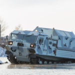 Специалисты Газпрома провели тест-драйв  вездеходов ТМ-140 Курганмашзавода
