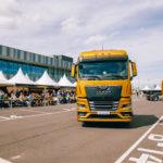 Новое поколение грузовых автомобилей MAN проехало половину страны на пути во Владивосток
