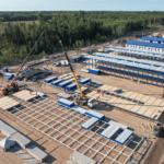 В Усть-Луге идёт обустройство временного городка для строителей Комплекса по переработке этансодержащего газа