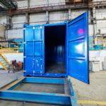ЧТЗ выпустил первый 20-футовый универсальный морской контейнер
